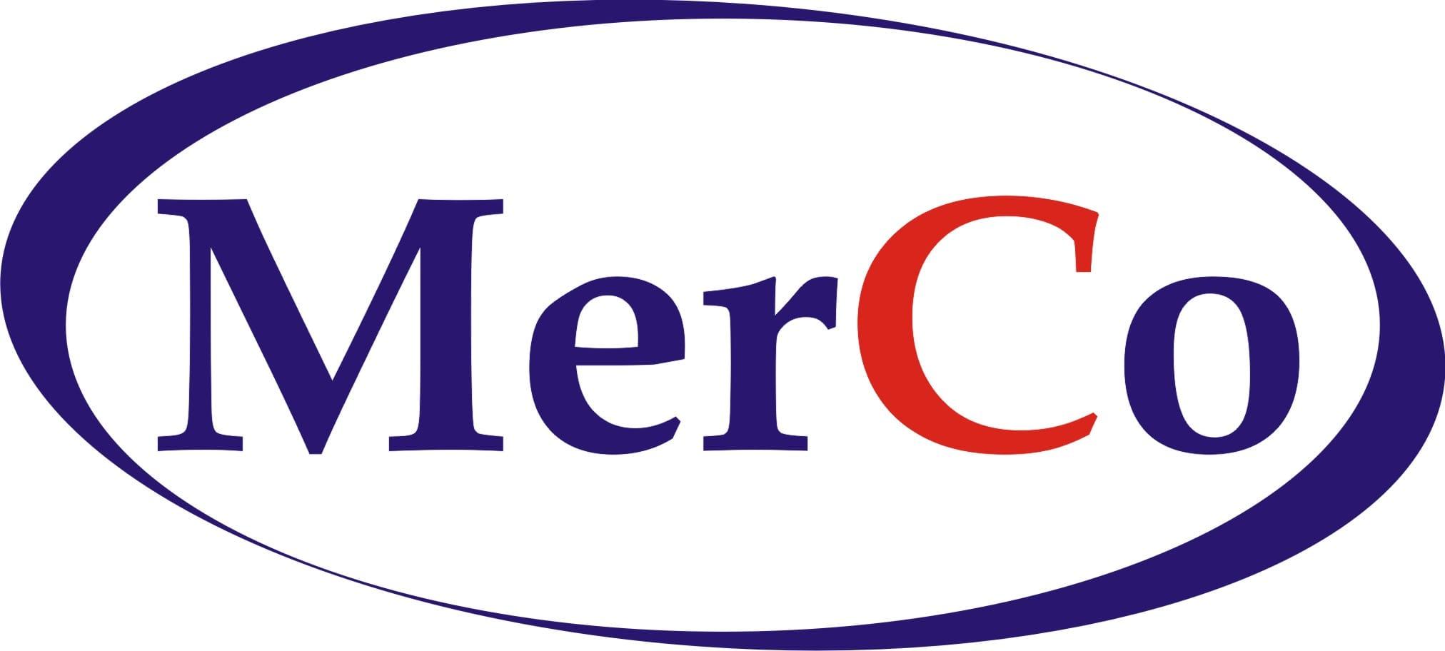 MerCo logo krzywe